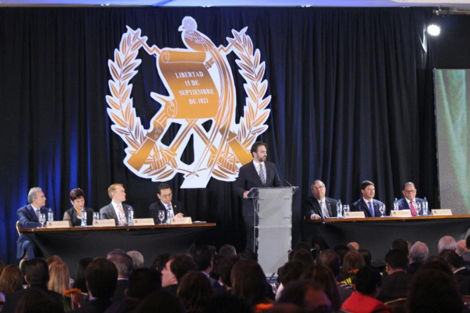 El Mandatario recibió críticas por su discurso en una actividad el pasado miércoles.  (Foto: Archivo/Soy502)