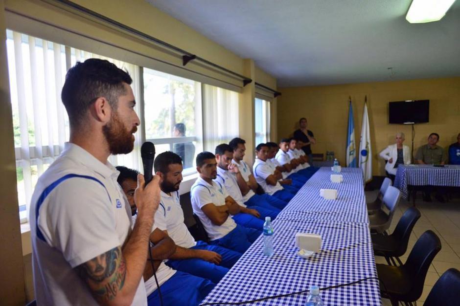 Jean Márquez, el capitán, también habló sobre el juego. (Foto: Jesús Alfonso/Soy502)