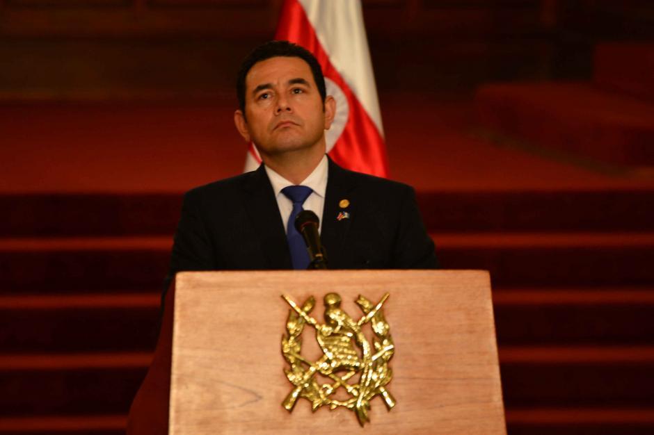 Analistas señalan que su gobierno es reactivo. (Foto: Archivo/Soy502)