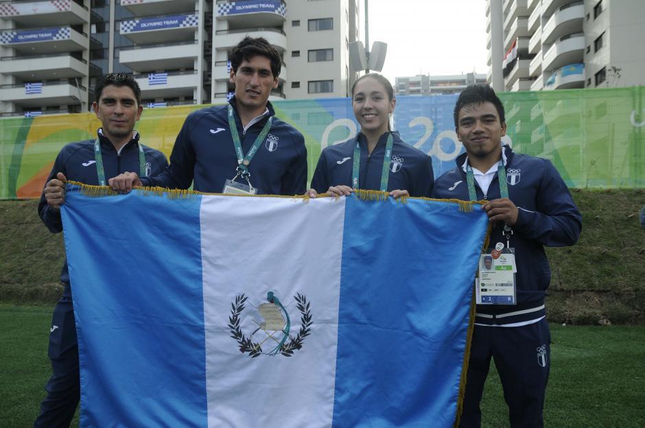 En total 21 atletas guatemaltecos verán acción en los Juegos Olímpicos de Río 2016.  (Foto: Aldo Martínez/Enviado de Nuestro Diario)