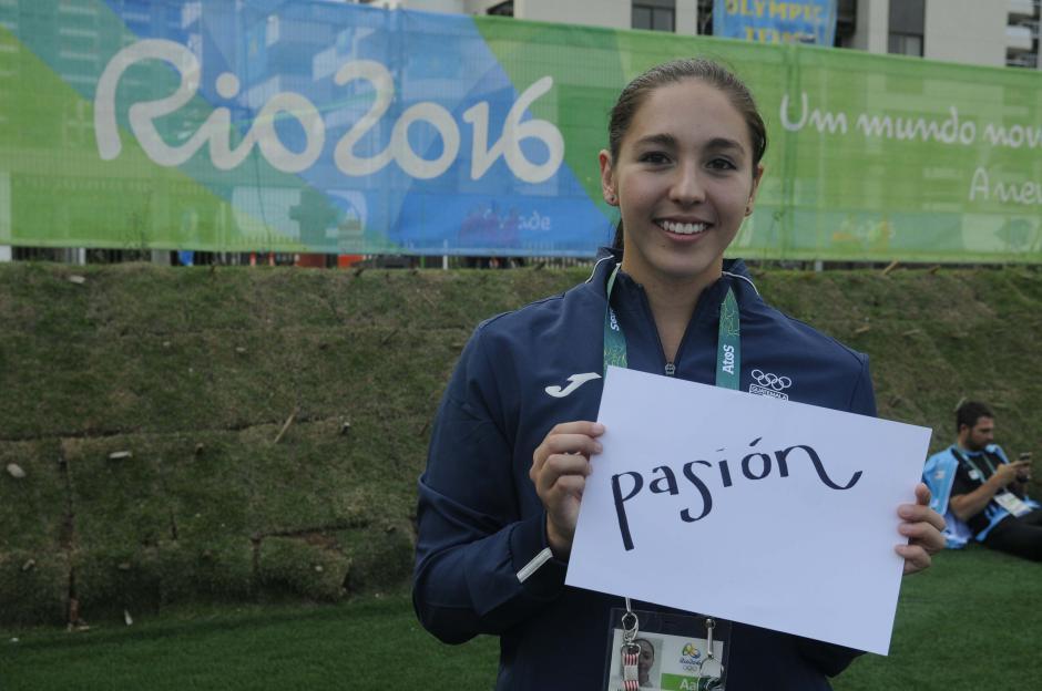 """Valerie Gruest es la más pequeña de la delegación guatemalteca, para ella la """"pasión"""" es fundamental.  (Foto: Aldo Martínez/Enviado de Nuestro Diario)"""