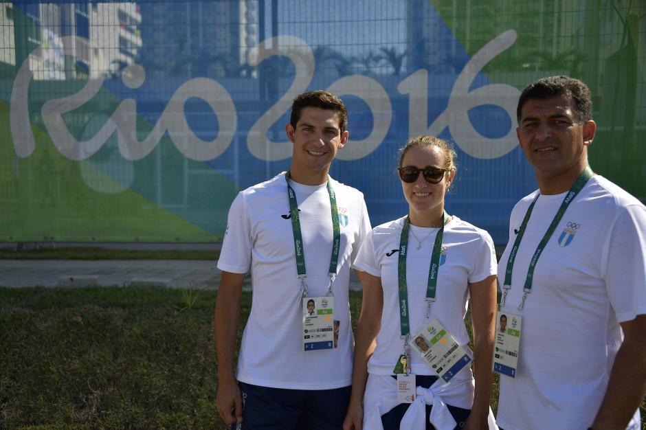Charles Fernández e Isabel Brand debutarán en los Juegos Olímpicos, en la prueba de esgrima. (Foto: Aldo Martínez/Enviado de Nuestro Diario)