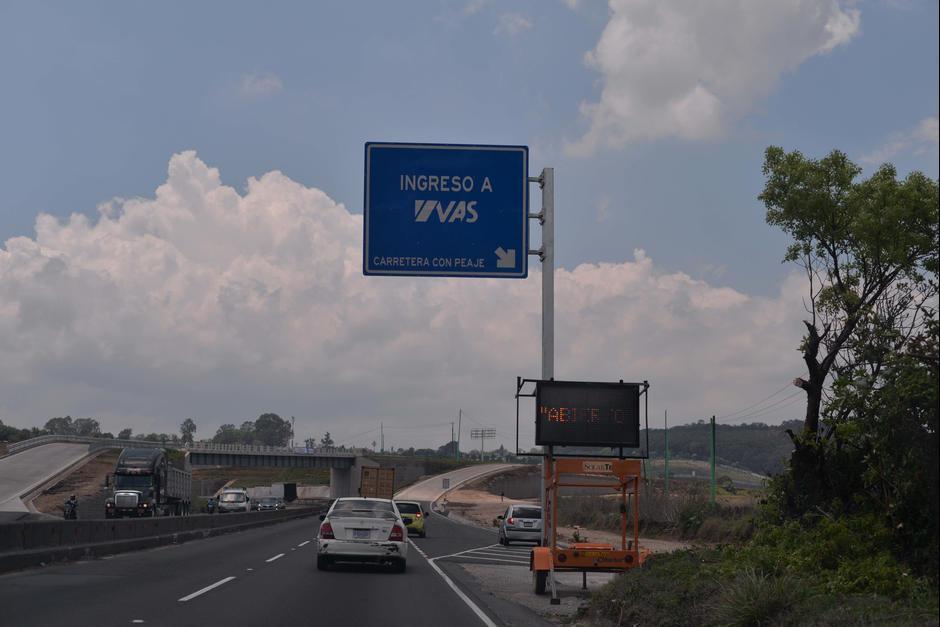 La Vía Alterna del Sur ha sido de beneficio para Villa Nueva. (Foto: Archivo/Soy502)