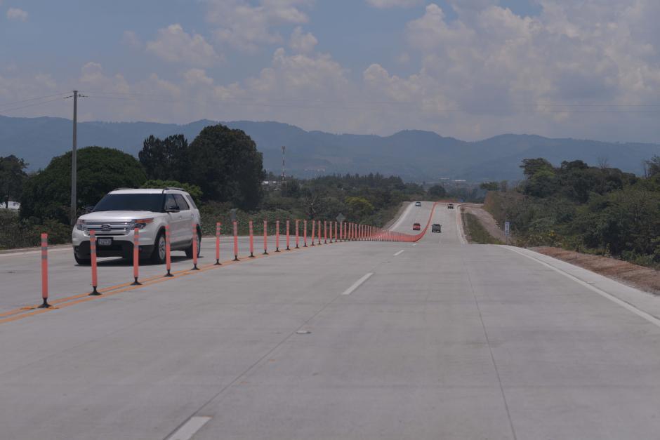 El primer tramo habilitado cuenta con 11 kilómetros. (Foto: Wilder López/Soy502)