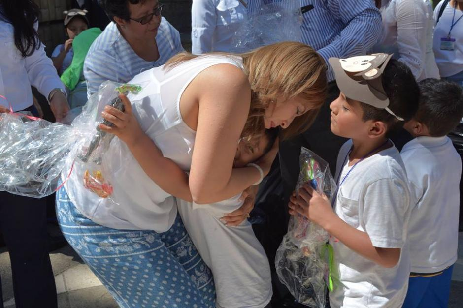 La Primera Dama de la Nación celebró el Día del Niño este viernes. (Foto: Patricia Marroquín de Morales/Facebook)