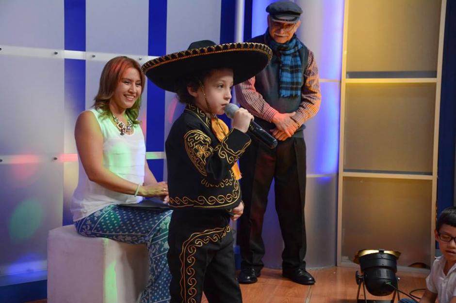 La esposa del mandatario participó en un programa del Canal de Gobierno. (Foto: Patricia Marroquín de Morales/Facebook)
