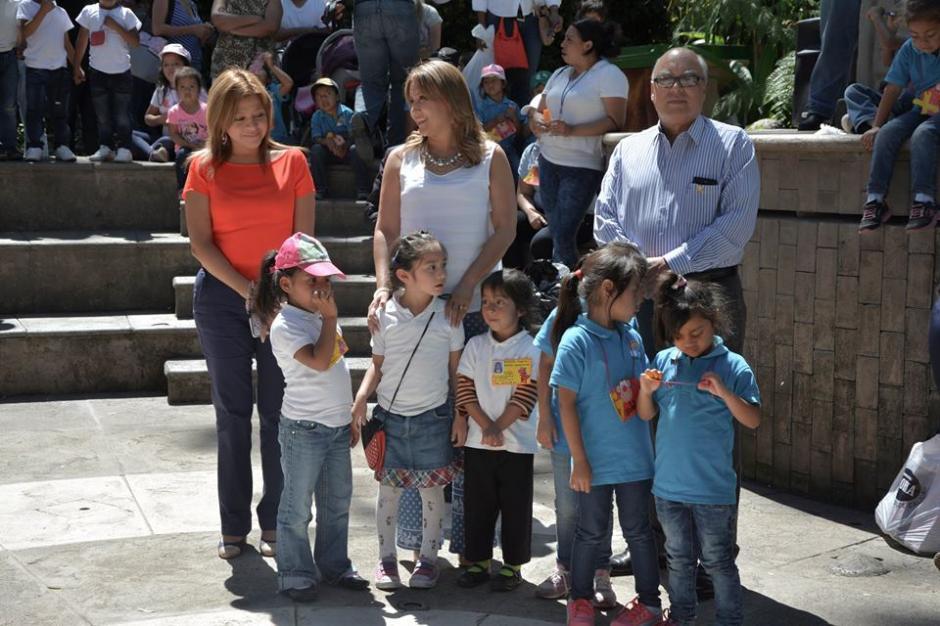 Marroquín de Morales evadió las preguntas de la prensa. (Foto: Patricia Marroquín de Morales/Facebook)