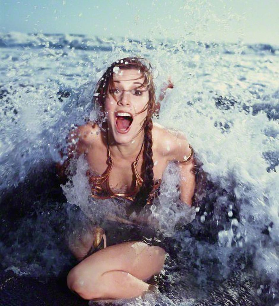 La sesión fotográfica se llevo a cabo en una playa y fue hecha hace 32 años. (Foto: boredpanda.com)