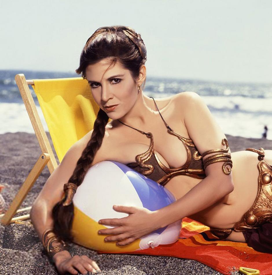 La sesión de fotos sirvió para promocionar aun más la película Star Wars. (Foto: boredpanda.com)