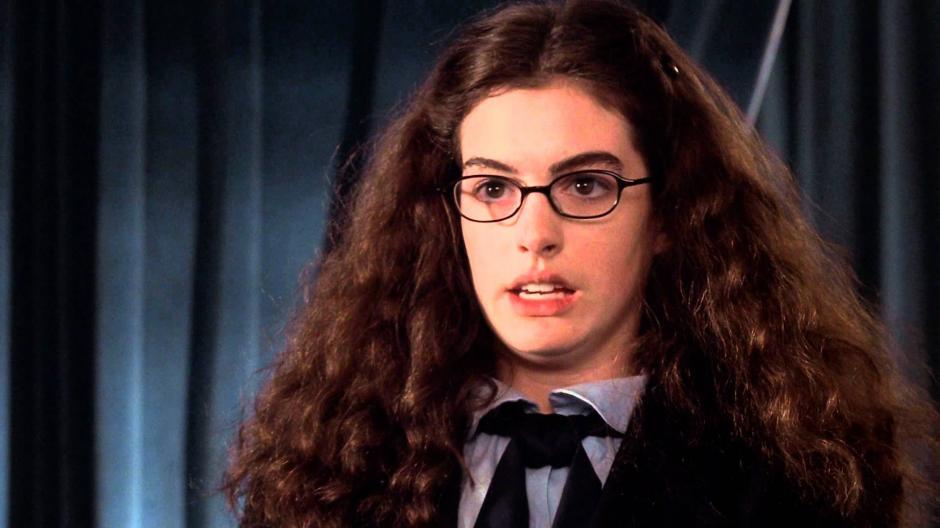 La actriz Anne Hathaway durante su participación en la película El Diario de una princesa. (Foto:www.cambridgefilmfestival.org.uk)