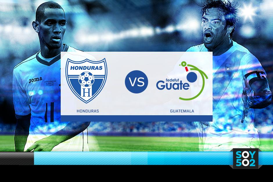 Honduras recibirá a Guatemala en terreno catracho en un juego amistoso