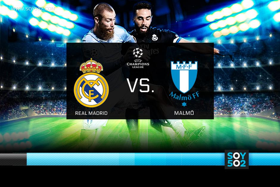 El Real Madrid recibe al Malmö en el estadio Santiago Bernabéu