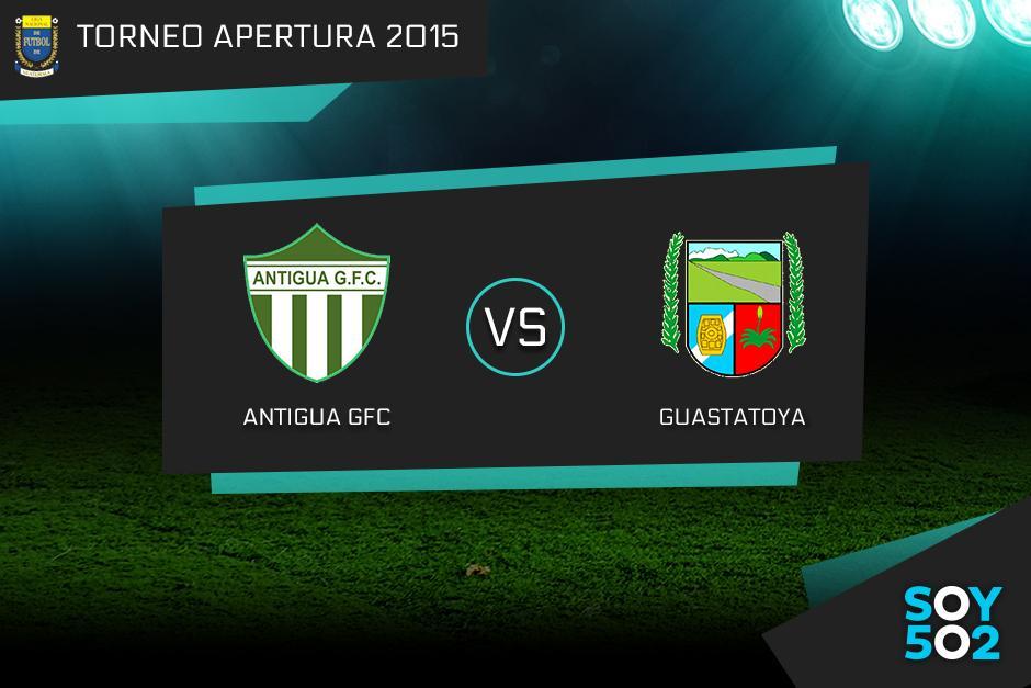 Antigua GFC recibe al Deportivo Guastatoya en un final inédita del fútbol nacional
