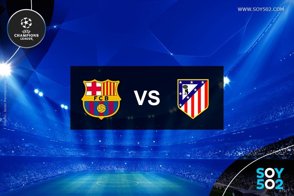 El Atlético de Madrid visita al Barcelona en el Camp Nou por la Champions.