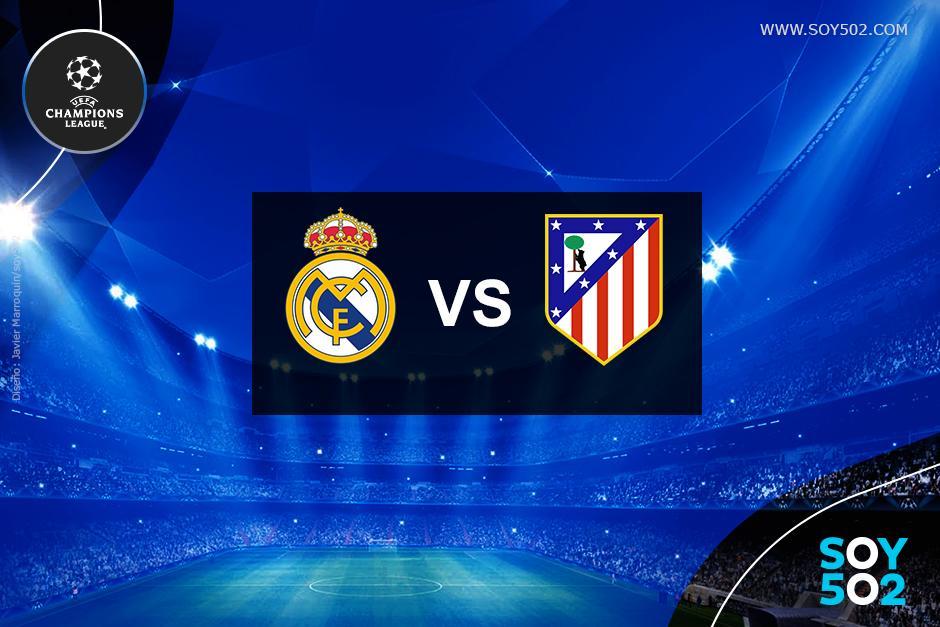 El Real Madrid y el Atlético se enfrentan en la final de la UEFA Champions League