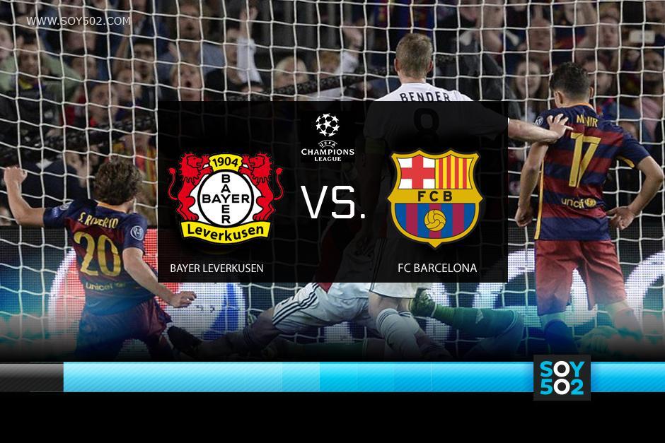 """El Bayer Leverkusen con el """"Chicharito"""" Hernández recibe al Barcelona por la Champions"""