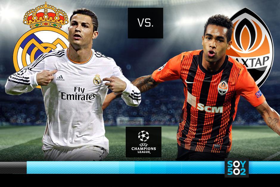 El Real Madrid debutará en la Champions jugando en casa ante el Shakhtar