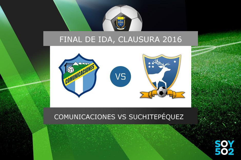 Comunicaciones recibe a Suchitepéquez en el Mateo Flores por la final de ida del torneo Clausura 2016