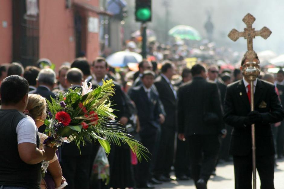 Se prepara para salir la procesión de Jesús de la Reseña. (Foto: Raúl Illescas).