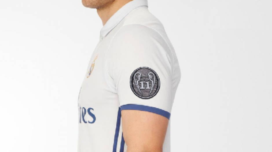 La nueva camiseta del Real Madrid tendrá un parche conmemorativo de las 11 Champions. (Foto: 90min)