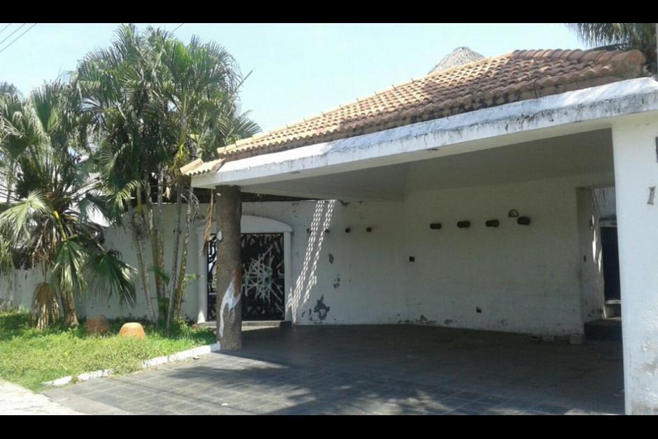 Esta propiedad está valorada en 320 mil dólares (2.5 millones de quetzales). (Foto: MP)