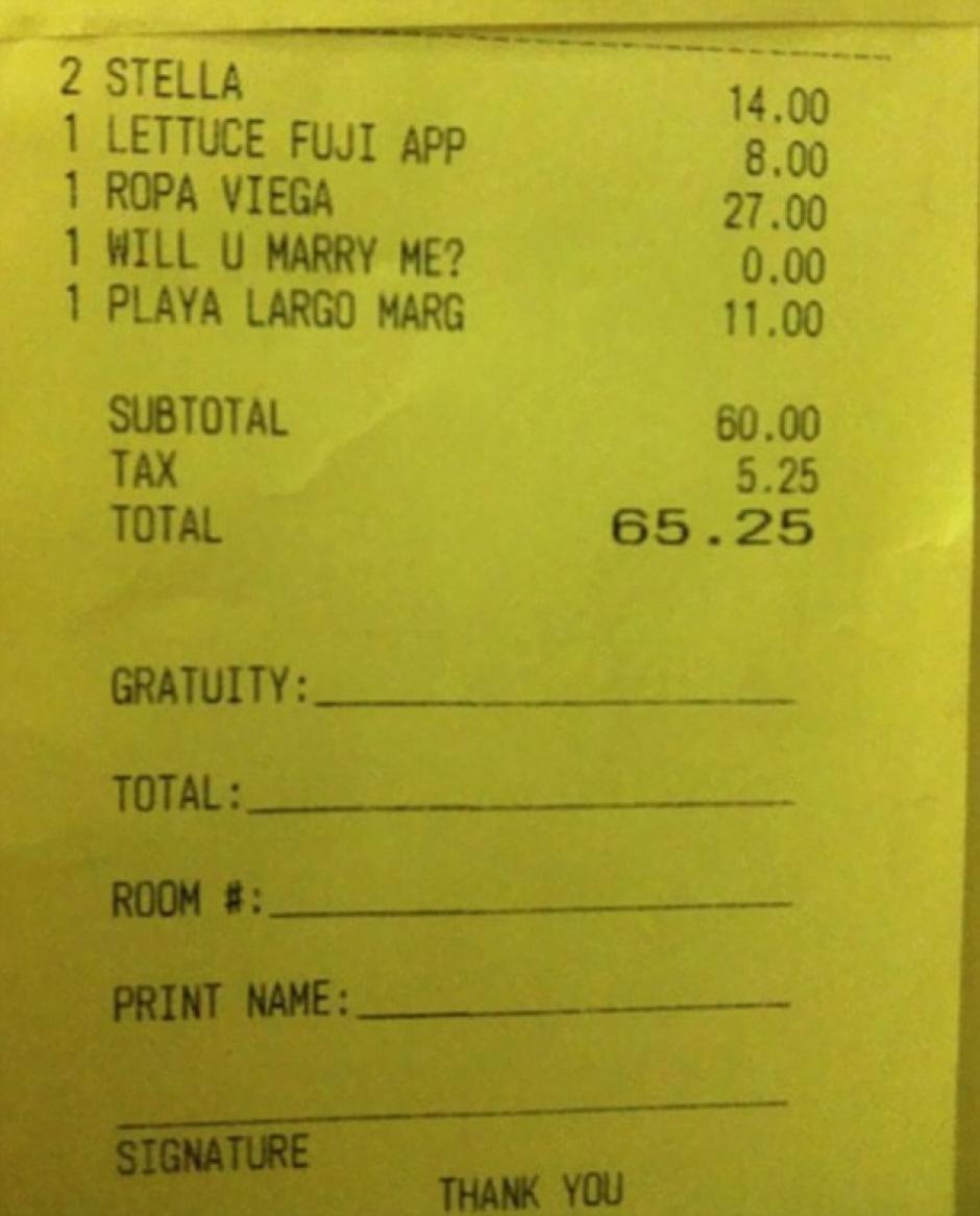 En una factura se esconde la pregunta que sin duda dejó a una persona sin palabras. (Fotos: Bored Panda)