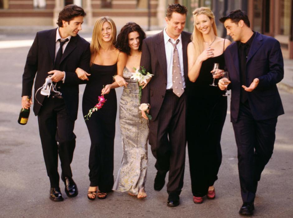 """Así lucía el elenco de """"Friends"""" hace doce años. (Foto: independent.co.uk)"""