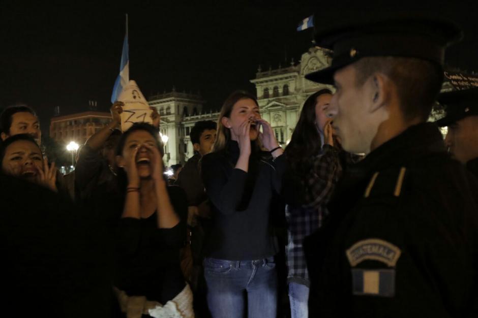 La PNC estuvo en calidad de prevención. (Foto: Alejandro Balan/Soy502)