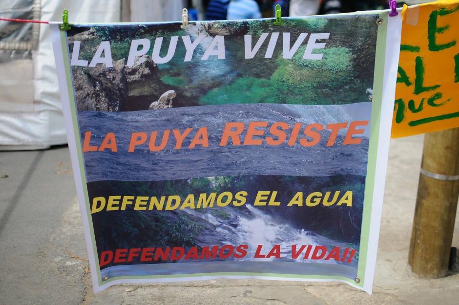 Desde hace varios años, el conflicto entre la mina El Tambor y los pobladores de La Puya han incrementado. (Foto: Alejandro Balan/Soy502)