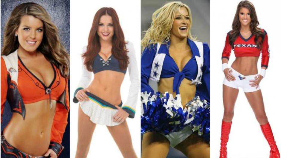 Las impresionantes y bellas. Ellas son las 25 sexys porristas para el Pro Bowl 2016.