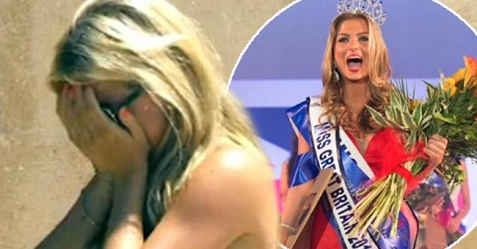 Zara Holland pierde la corona de Miss Reino Unido. (Foto: Sun)