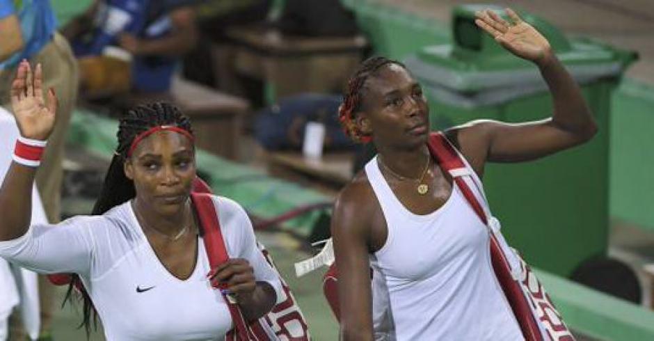 Venus y Serena Williams son las mayores ganadoras de medallas en Juegos Olímpicos. (Foto: Twitter)