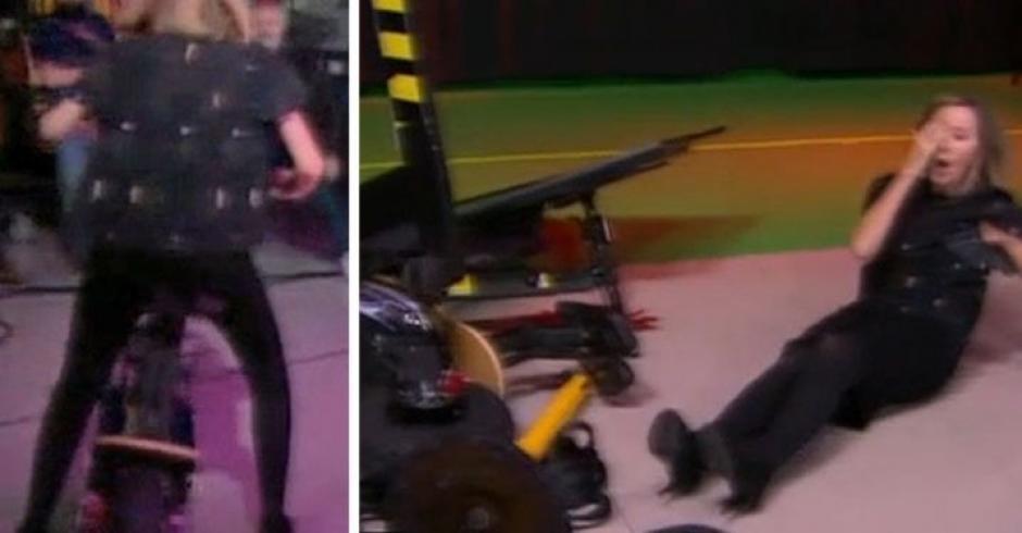 "Lisa intentó conducir un ""scooter"", pero todo salió mal. (Foto: Captura de video)"