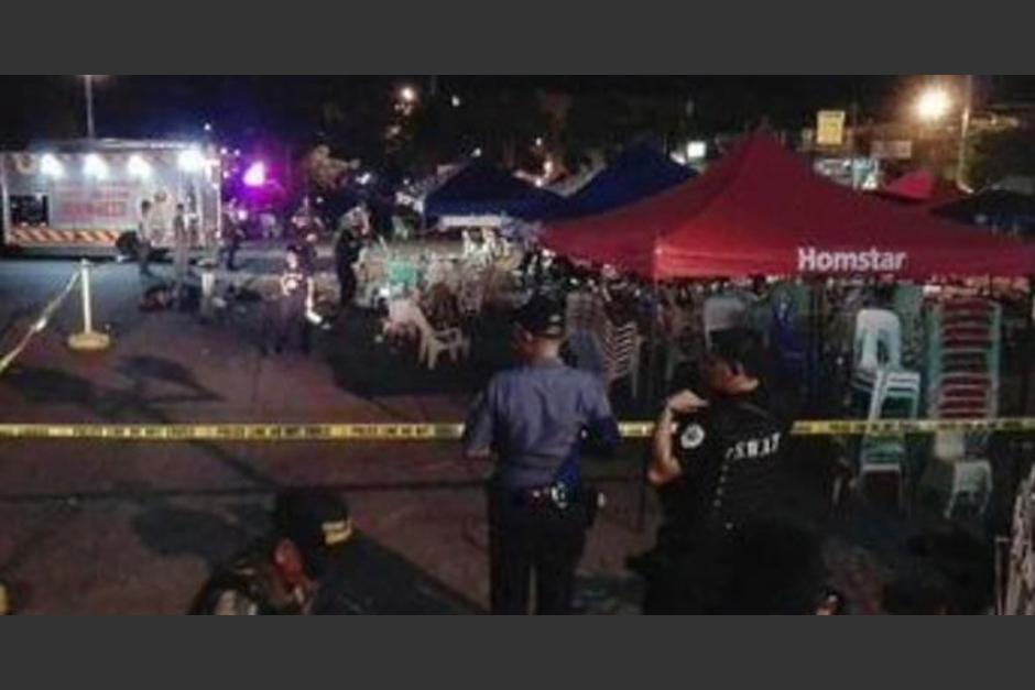 Bomba explota en plena velada de boxeo en Filipnas. (Foto: Twitter)