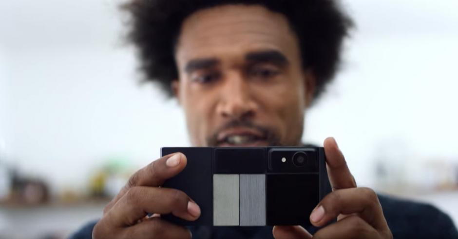 Se le podrán incluir cámaras, altavoces, o una batería nueva. (Foto: proyecto Ara de Google)