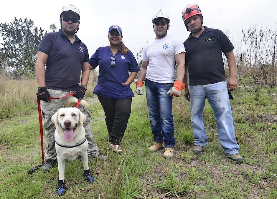 Así nace K-SAR Guatemala, Patrulla Canina Internacional de Búsqueda y Rescate. (Foto: Selene Mejía/Soy502)