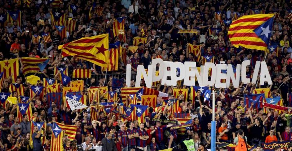El Barcelona podría dejar de ser parte de la Liga BBVA si cataluña logra la independencia