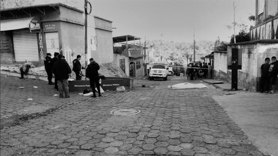 Los hombres fueron atacados frente a una escuela para niñas. (Foto: Facebook/Pueblo Nuevo Viñas Sos Vos)