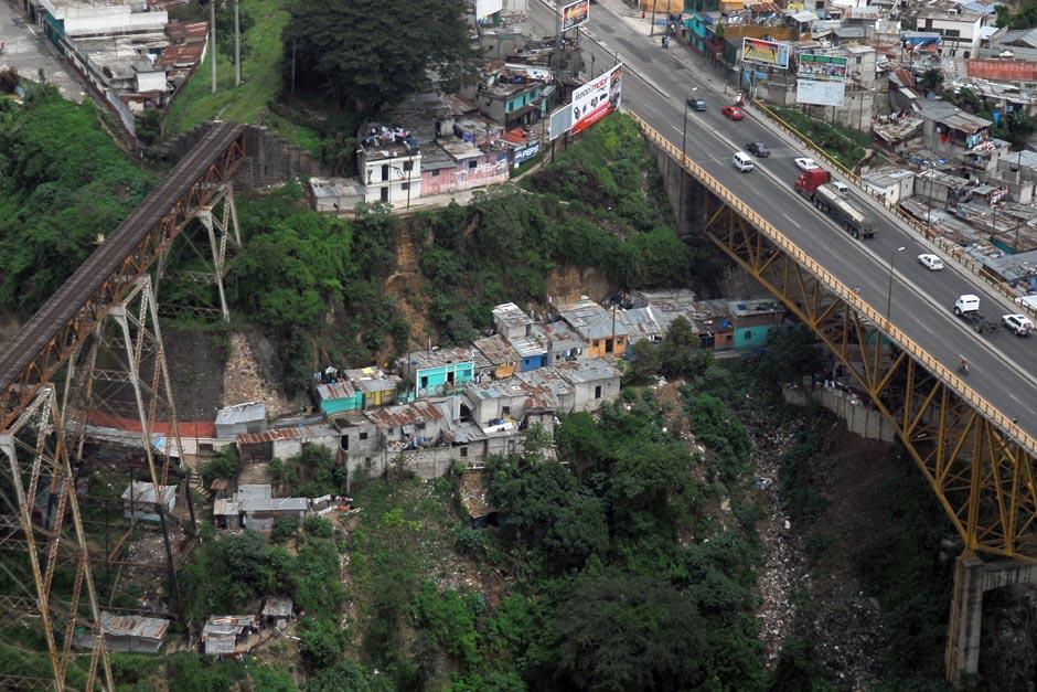 El puente se construirá al lado del Puente de Las Vacas. (Foto: Archivo/Soy502)