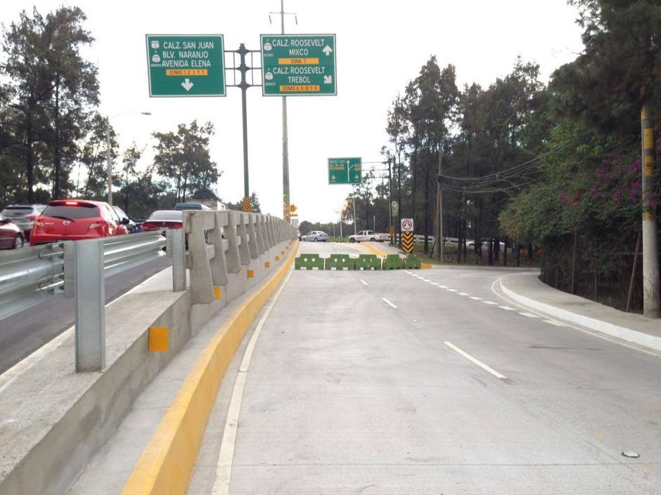 Se debe tomar en cuenta el carril para no confundir el destino. (Foto: Álvaro Rodas/MuniGuate)