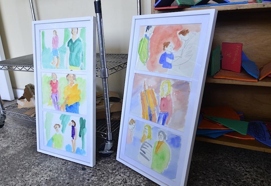 """""""Puro arte"""" tiene un programa para niñas y niños de educación regular de 4 a 10 años. (Foto: Selene mejía/Soy502)"""