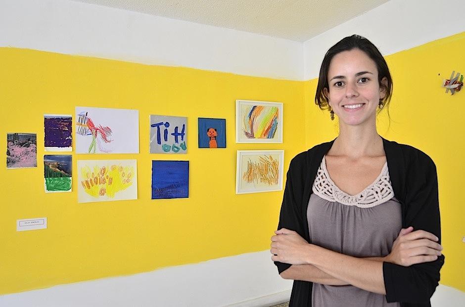Inés Verdugo es la fundadora de este lindo proyecto. (Foto: Selene Mejía/Soy502)