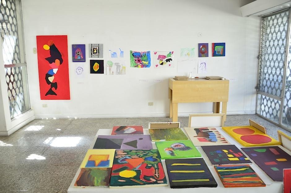 """""""Puro Arte"""" es un centro de creación para personas con necesidades especiales. (Foto: Selene Mejía/Soy502)"""