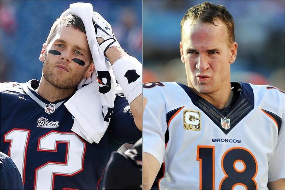 Brady y Manning son los principales protagonistas previo al Súper Tazón 50