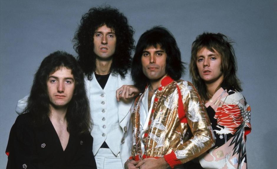 Así lucía la banda británica Queen. (Foto: Google)