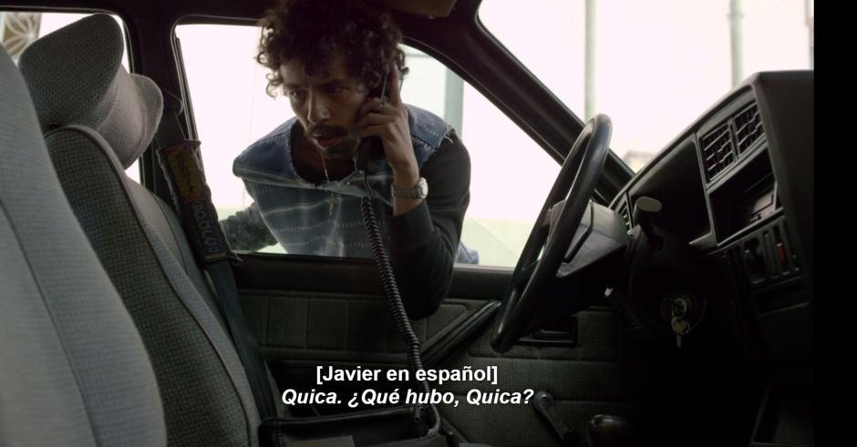 """""""La Quica"""" estaba preso y fue injustamente condenado por la bomba al vuelo de Avianca en el que murieron más de 100 pasajeros. (Foto: Netflix)"""