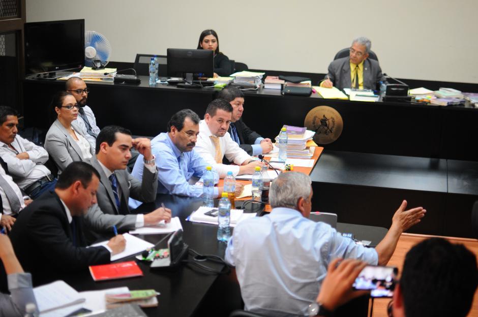 El exmandatario explicó que los nombramientos no son asociación ilícita. (Foto: Alejandro Balan/Soy502)