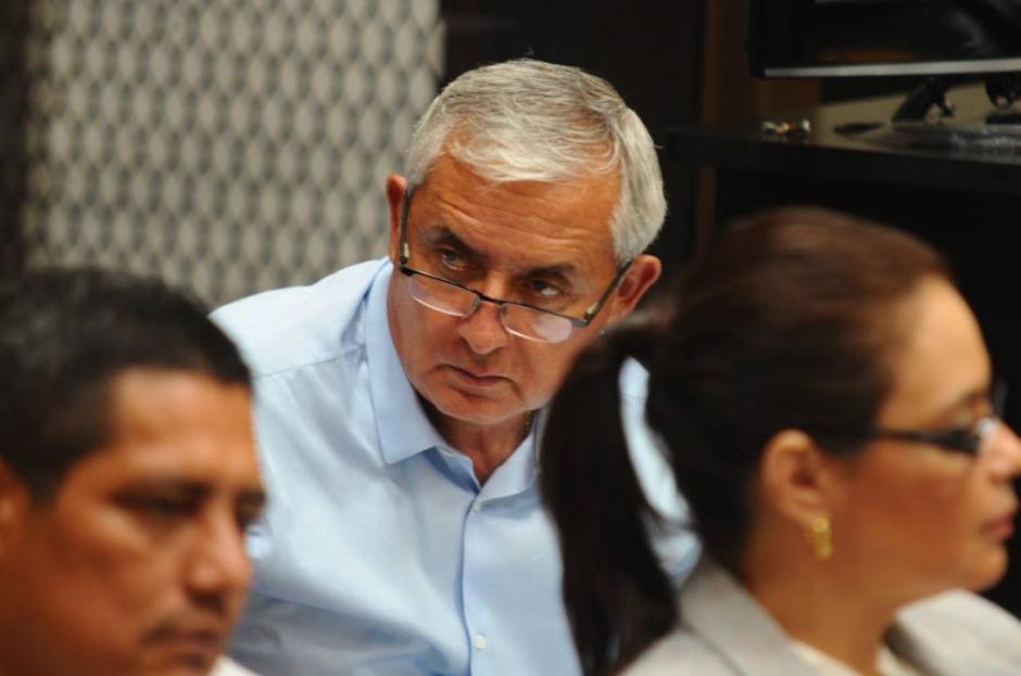 El expresidente Otto Pérez Molina dijo que en el país hay intromisión extranjera. (Foto: Alejandro Balán/Soy502)