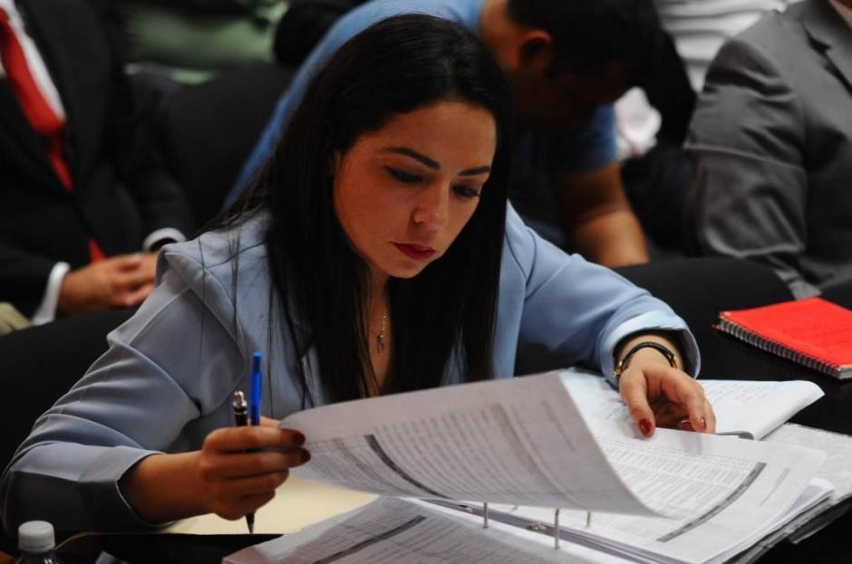 Bárbara Rosas, abogada de Jonathan Chévez. (Foto: Alejandro Balán/Soy502)