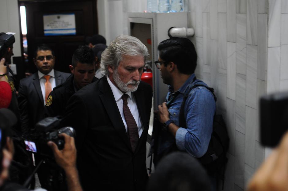 El español Juan José Suárez escuchó las imputaciones. (Foto: Alejandro Balán/Soy502)